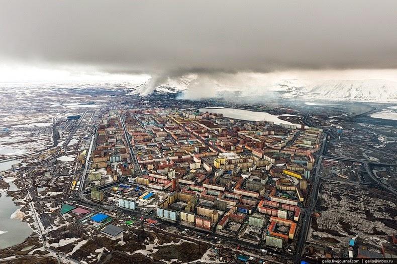 The Depressing Industrial City of Norilsk