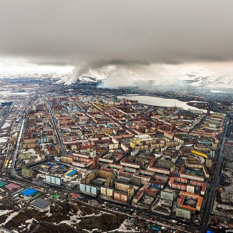 The Depressing Industrial City of Norilsk