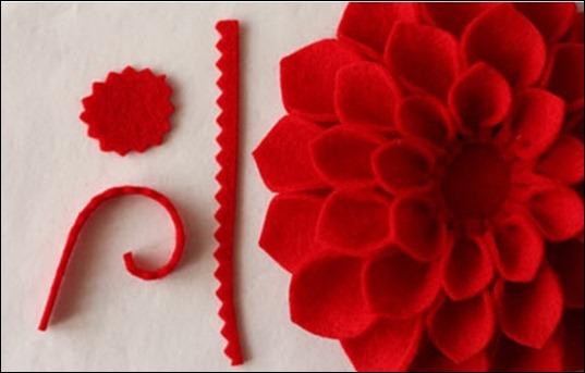 Поделка аленький цветочек своими руками из бумаги
