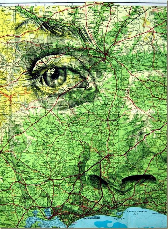 Portraits dessinés sur les cartes par Ed Fairburn (4)