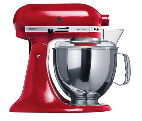 KitchenAid Empire Red Artisan Mixer