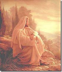 jesus sentado