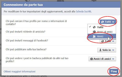 Come nascondere il profilo di Facebook