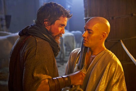 Christian Bale and Joel Edgerton in Exodus Gods and Kings