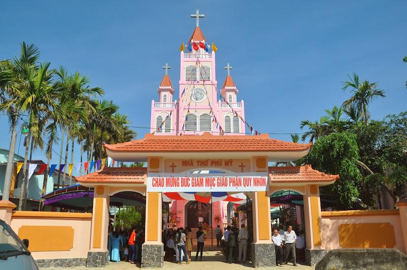 Lễ đặt viên đá xây dựng nhà thờ Phú Mỹ, Quy Nhơn