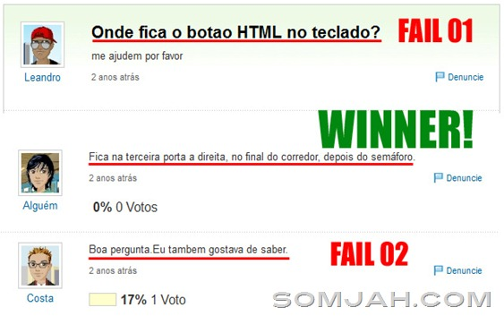 html fail master