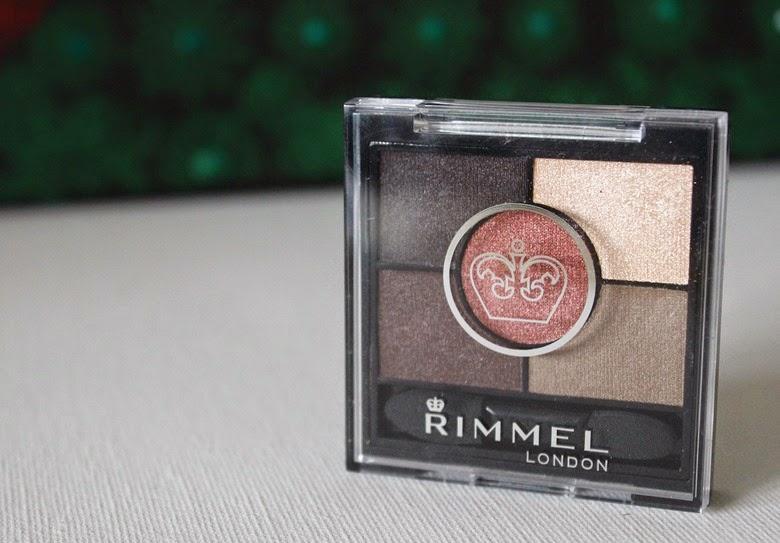 rimmel glam eyes HD palette brixton brown