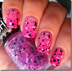 Gradient Polka Dots Maybelline (1)