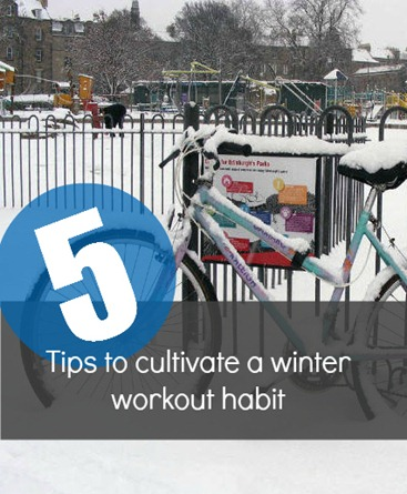 creating habits to help you workout all winter