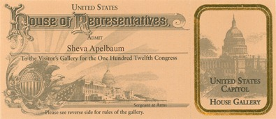 Sheva Apelbaum Congress Pass