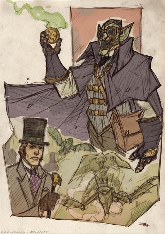 personagens-steampunk-DenisM79-desenhos-desbaratinando (9)