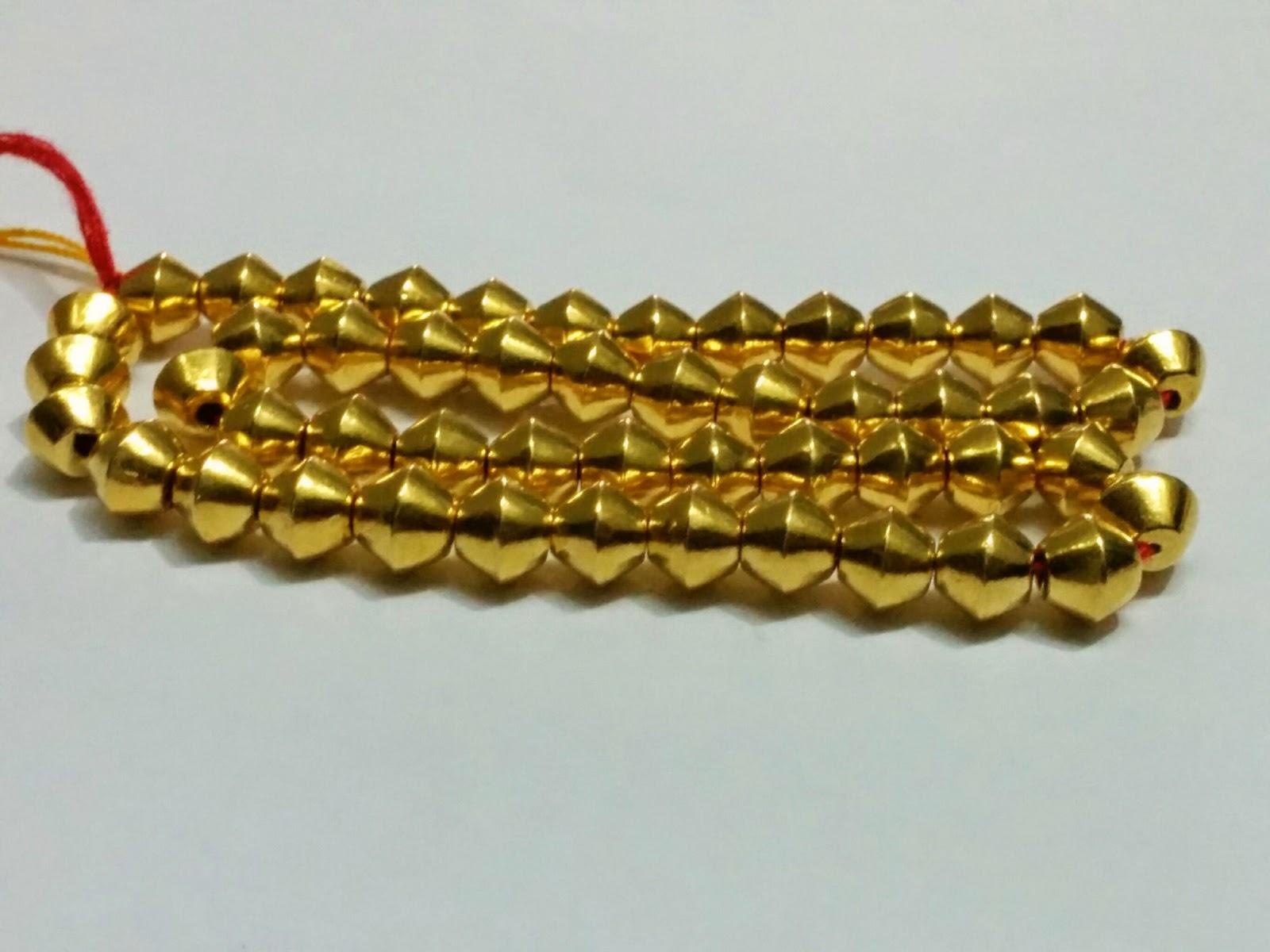 sha himatmal tilokchandji jewellers gold wax bead