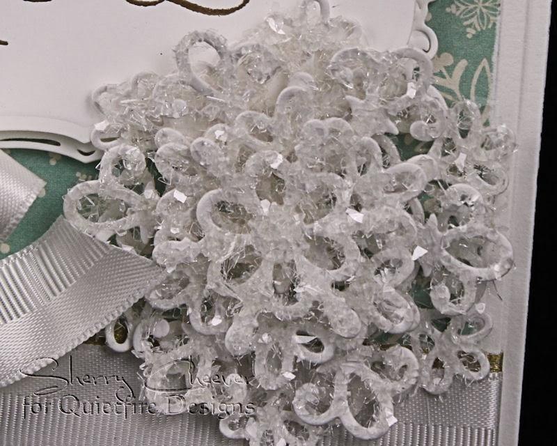 SnowFlakeCard CloseUP Snowflake