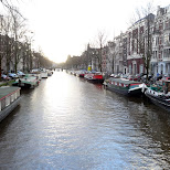 canals of Amsterdam - De Jordaan in Amsterdam, Noord Holland, Netherlands