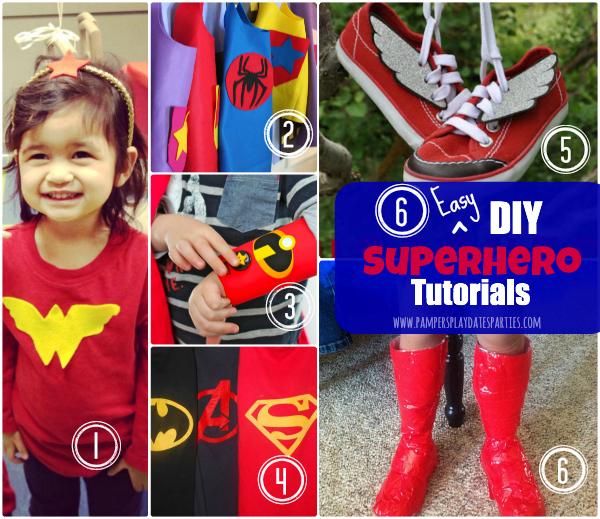 DIY Superhero Costume Tutorials_