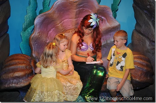 Fastpass+ highly recommended for Meeting Ariel in her Grotto