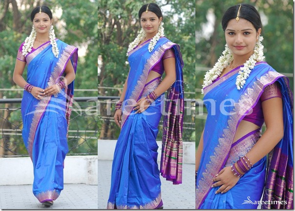 Yamini_Blue_Traditional_Silk_Saree