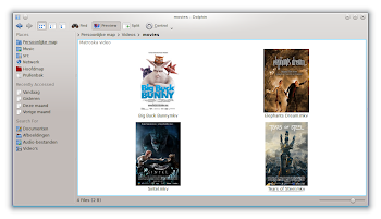 MovieThumbs in Dolphin / KDE