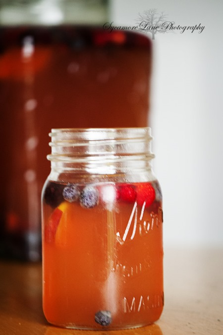 Peach Tea Sangria-SycamoreLane Photography