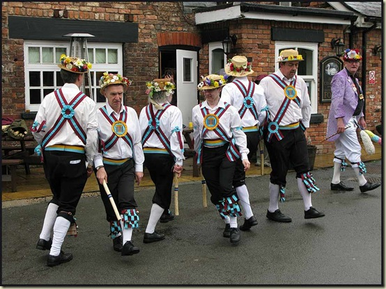 Morris Dancing on Easter Monday