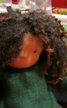 Sohn-Puppe Detail