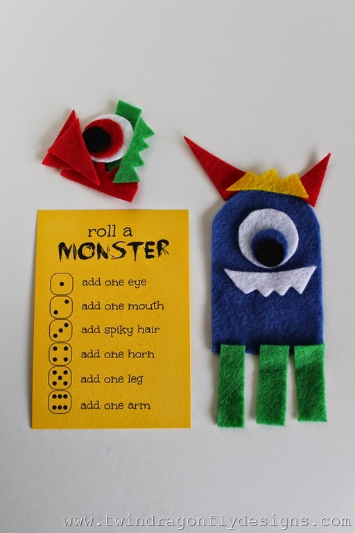 Roll a Monster Game (6)