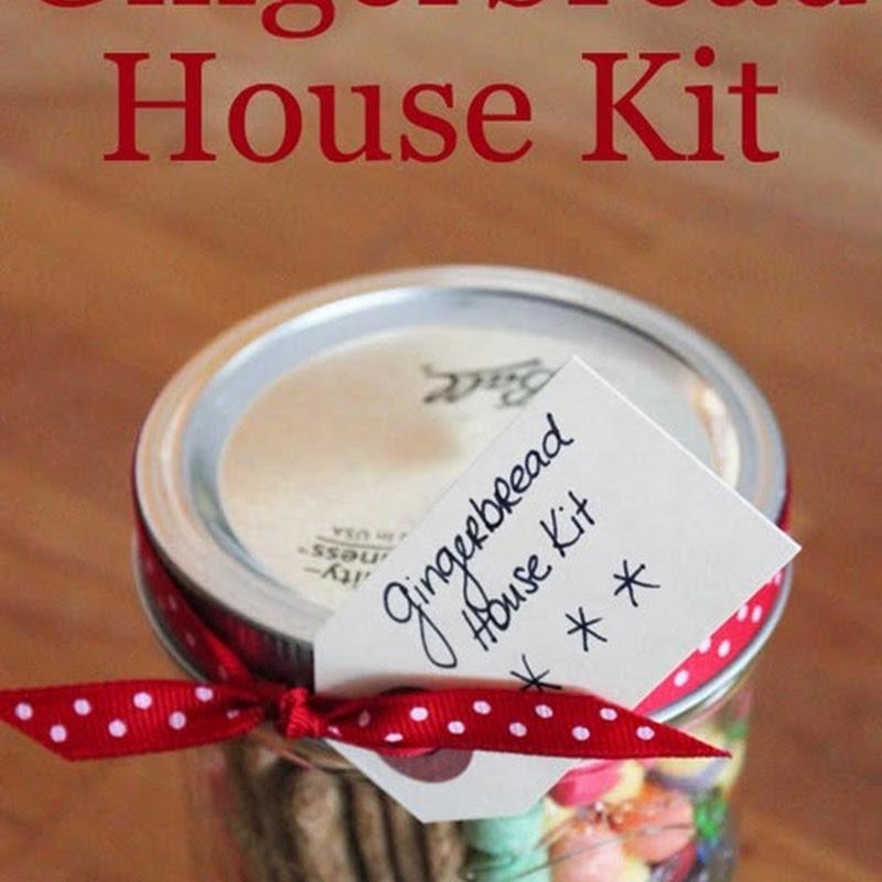 For the Kids: Gingerbread House Kit