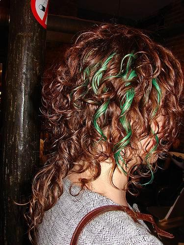 latest beautiful curly hairstyle