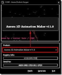 Aurora 3D Animation Maker 12.07.23 Full Keygen