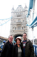 Me with Tom and Colette on Tower Bridge