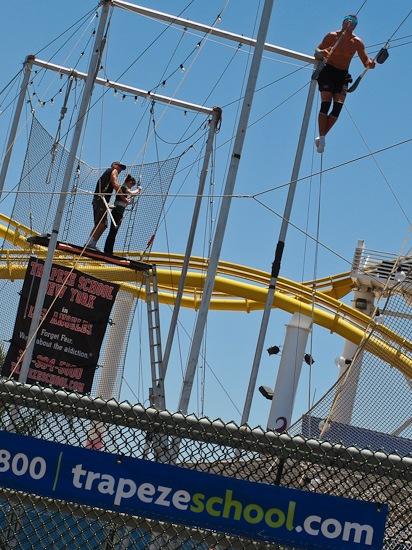 Santa Monica Pier Trapeze School