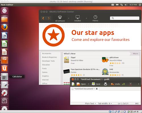 Ubuntu 12.10 su Virtuabox