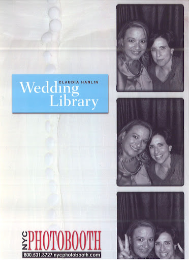 Claudia and I had fun in the photo booth as well!