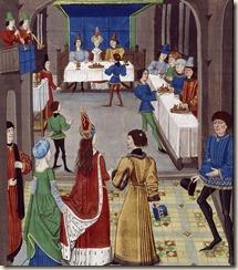 Un mariage. David Aubert, Renaut de Montauban, Flandre, vers 1465