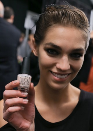 OPI for Reem Acra Fall/Winter 2014 #NYFW #OPINYFW