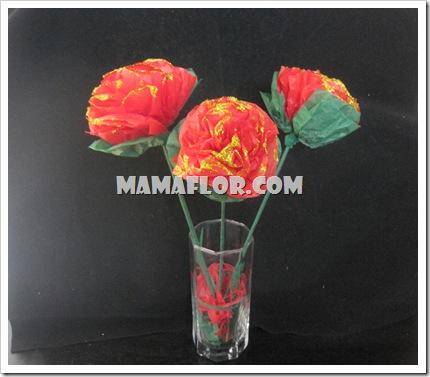Rosas de Papel para Mamá