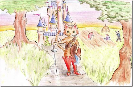 El Gato con Botas,El gato maestro,Cagliuso, Charles Perrault,Master Cat, The Booted Cat,Le Maître Chat, ou Le Chat Botté (49)