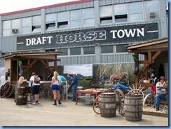 0319 Alberta Calgary Stampede 100th Anniversary - Draft Horse Town
