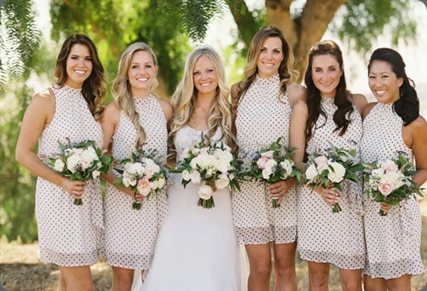 polka dots French-Inspired-Wedding-31 jl designs and  Braedon Flynn photo