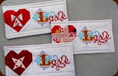 1302002 Feb 04 Mugmats From Carol Doak Hearts