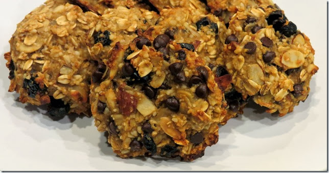 Gluten Free Cranberry Almond Oat Breakfast Cookies 2