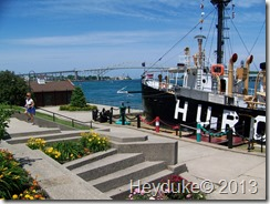 Coast Guard tug  named the Huron