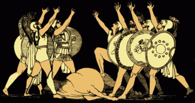 El juramento de los siete jefes de Alfred Church