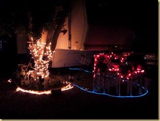 2012-12-24 -1- AZ, Yuma - Our Christmas lights