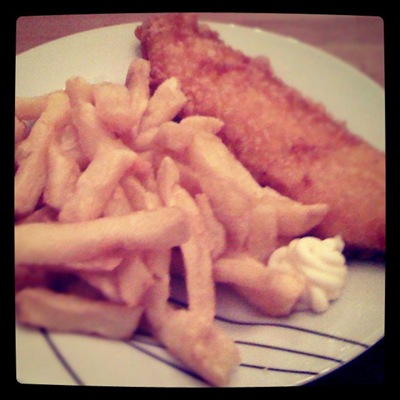 Classic fish n chip supper