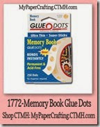 memory book glue dots-200