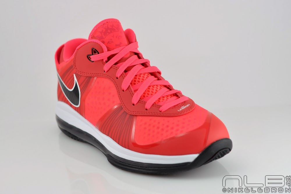 lebron 8 low red - photo #12