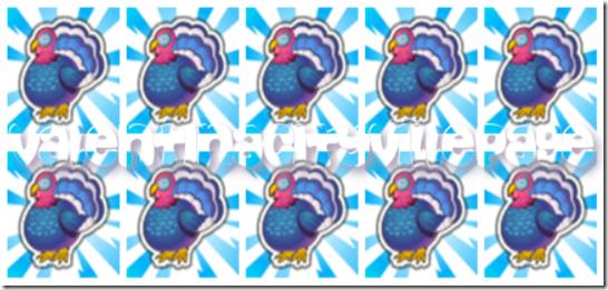 5 tacchini