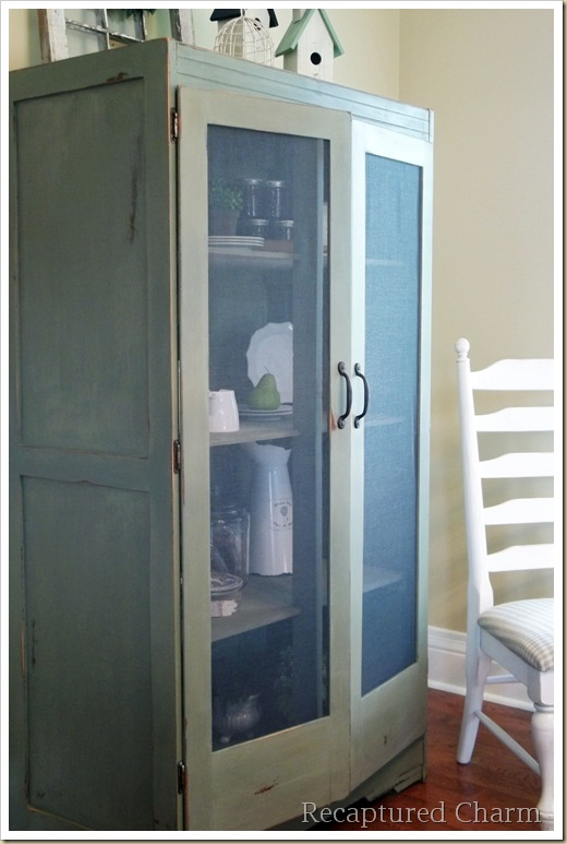 armoire milk paint 127a