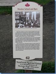 0979 Alberta Calgary - Heritage Park Historical Village - 1910 Weedon School